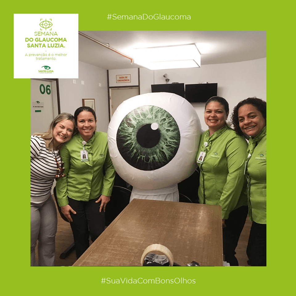 Semana do combate ao glaucoma